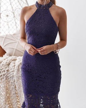 SONIA DRESS - PURPLE