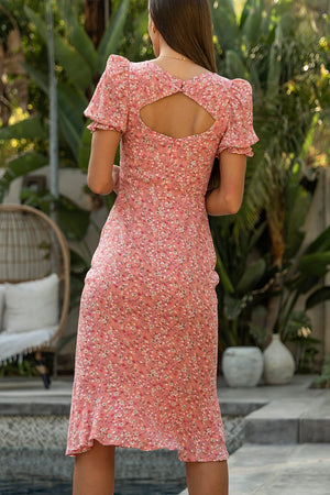 SAMANTHA DRESS - PINK FLORAL