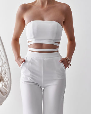 KIKI JUMPSUIT - WHITE