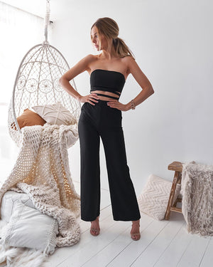 KIKI JUMPSUIT - BLACK