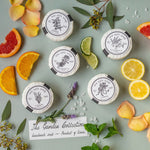 THE GARDEN COLLECTION -5 essential oil sea salt soaps