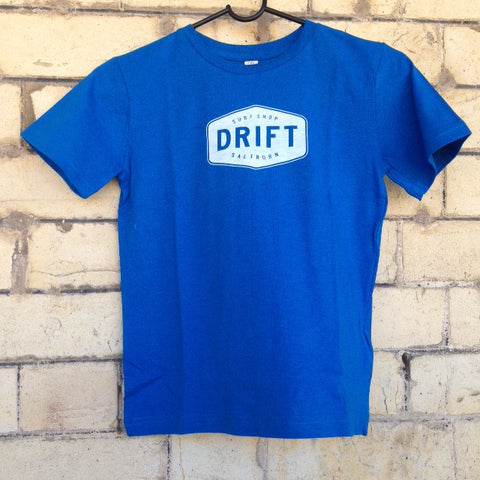 Drift Kids Tee- Blue