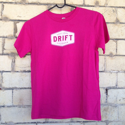 Drift Kids Tee- Pink