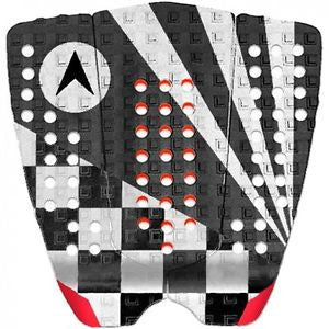 Astrodeck John John Tailpad Black/White/Red