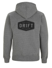 Drift High Neck Hoody - Grey