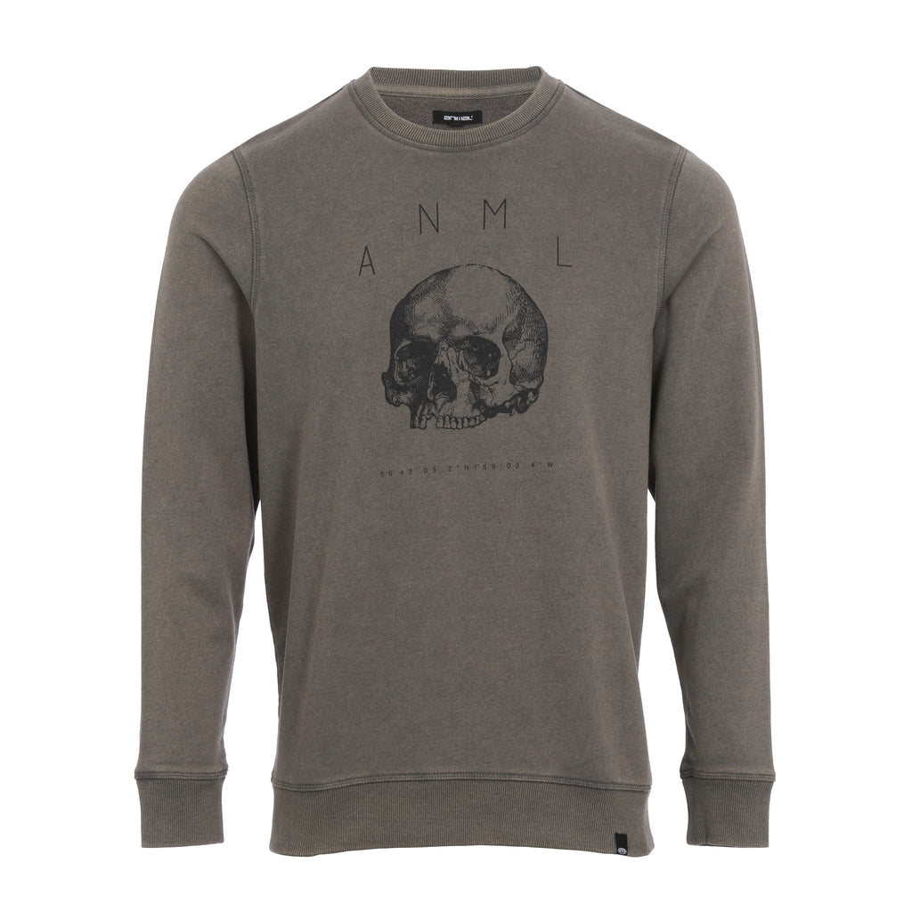Animal Crew Neck Sweatshirt- Gallion