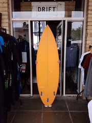 "Visionary 6'2"" Frampster With Fresh Orange Resin Tint"