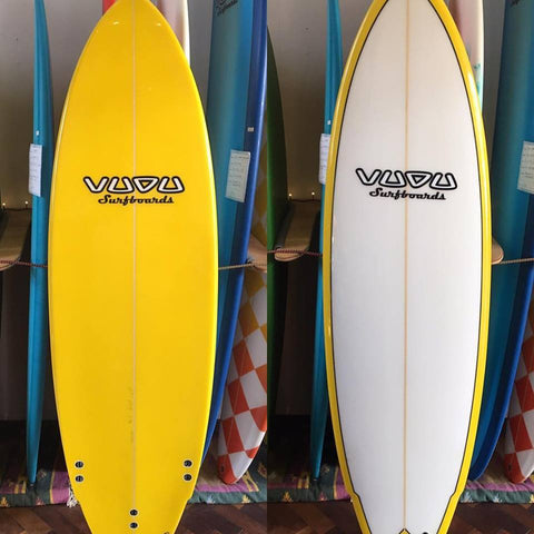 "Vudu 6'0"" Swallow Tail thruster"