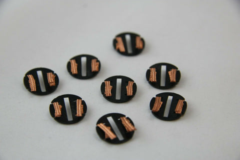 SCALEXTRIC ACCESSORIES - C8329 - QUICK CHANGE PICK UPS WITH COPPER BRAIDS - X8