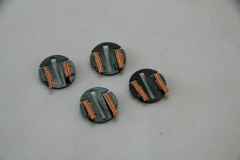SCALEXTRIC ACCESSORIES - C8329 - QUICK CHANGE PICK UPS WITH COPPER BRAIDS - X4