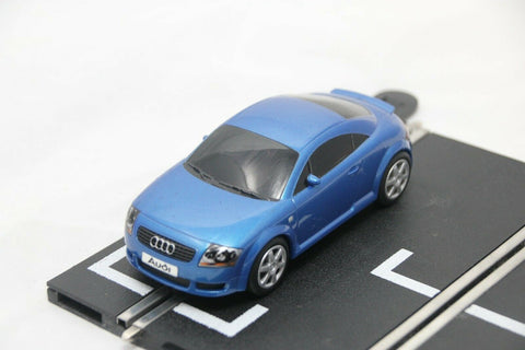 SCALEXTRIC DIGITAL CAR - C2507 - AUDI TT - ROAD CAR - BLUE