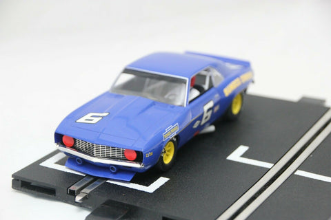 SCALEXTRIC SPORT CAR - C2399 - CHEVROLET CAMARO - SUNOCO PENSKE RACING - BLUE #6