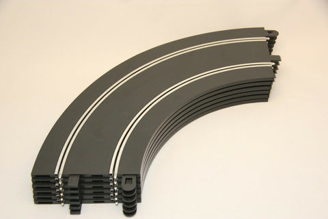 SCALEXTRIC SPORT / DIGITAL TRACK - C8529 - DOUBLE C8206 RADIUS 2 CURVES - x6