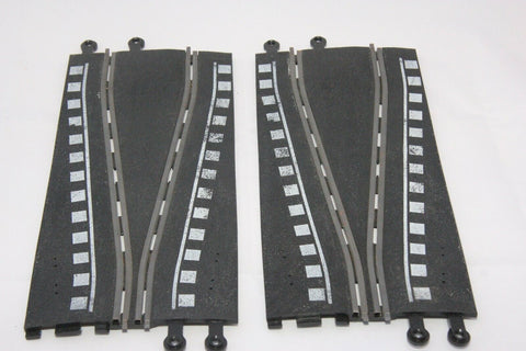 SCALEXTRIC CLASSIC TRACK - PT74 - SHORT CHICANE - WHITE MARKINGS