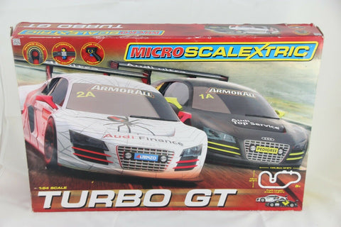 MICRO SCALEXTRIC SET - G1118 - TURBO GT