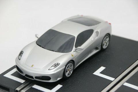 SCALEXTRIC DPR CAR - C2874 - FERRARI F430 - ROAD CAR - SILVER
