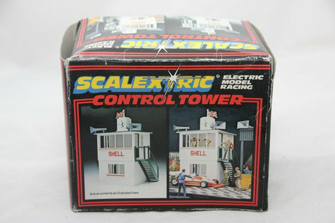 SCALEXTRIC CLASSIC ACCESSORIES - C702 - CONTROL TOWER - BNIB