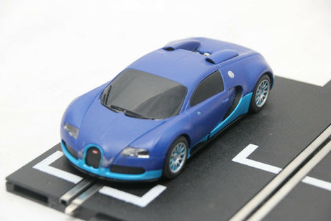 SCALEXTRIC DPR CAR - FROM SET - BUGATTI VEYRON - BLUE