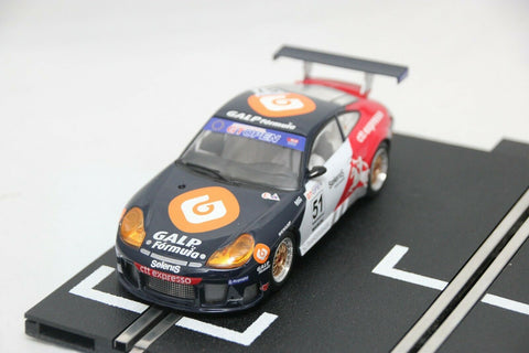 SCALEXTRIC DIGITAL CAR - C2849 - PORSCHE 911 GT3 - TRACK CAR - BLACK - 51