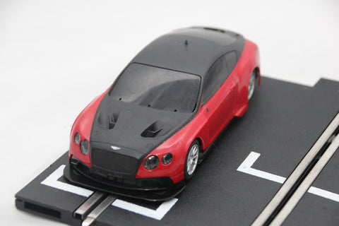 SCALEXTRIC DPR CAR - C1349R - BENTLEY CONTINENTAL - GT3 - RED