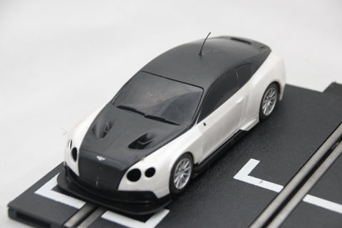 SCALEXTRIC DPR CAR - C1349W - BENTLEY CONTINENTAL - GT3 - WHITE