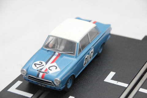 SCALEXTRIC DIGITAL CAR - C3670 - FORD CORTINA - 1964 BATHURST - GEOGHEGAN
