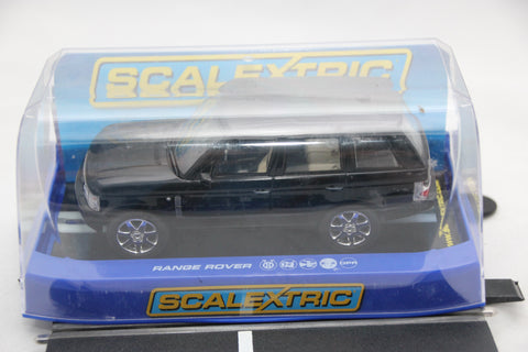 SCALEXTRIC DPR CAR - C2878 - RANGE ROVER - ROAD - BLACK - LIGHTS
