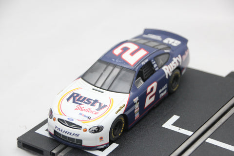 SCALEXTRIC SPORT CAR - C2208 - FORD TAURUS - NASCAR - RUSTY WALLACE - 2