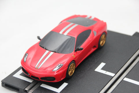 SCALEXTRIC DIGITAL CAR - C3039 - FERRARI F430 SCUDERIA - ROAD CAR - RED