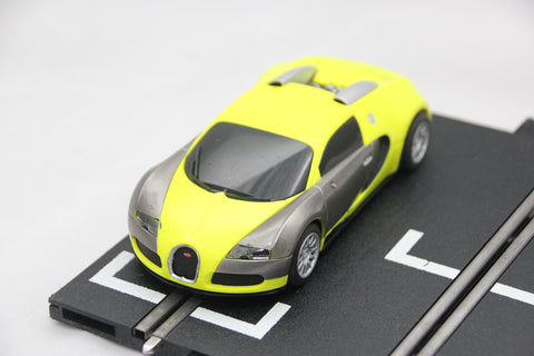 SCALEXTRIC DIGITAL CAR - C3275 - BUGATII VEYRON - ROAD CAR - YELLOW