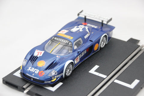 SCALEXTRIC DIGITAL CAR - C2904 - MASERATI MC12 - GT CAR - BLUE - 11