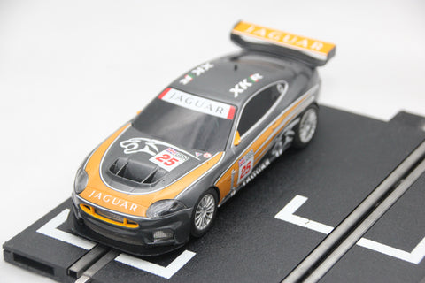 SCALEXTRIC DIGITAL CAR - C1275O - JAGUAR XKR - ORANGE - #25