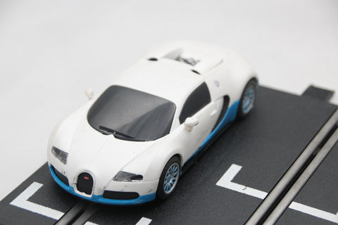 SCALEXTRIC DPR CAR - FROM SET - BUGATTI VEYRON - WHITE