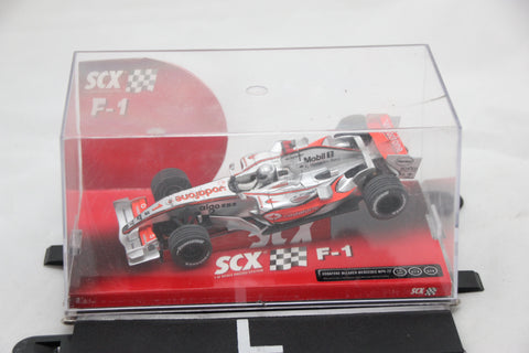 SCALEXTRIC ANALOGUE CAR BY SCX- 62570 - MCLAREN MERECEDES MP4-22 - F1 - ALONSO - #1