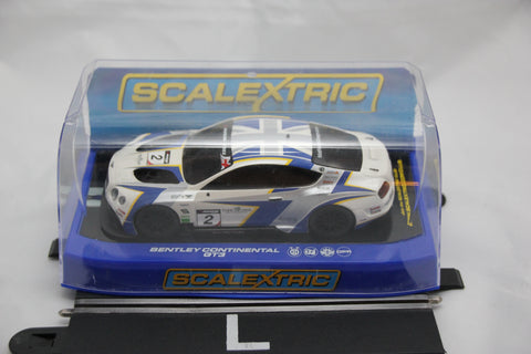 SCALEXTRIC DPR CAR - C3515 - BENTLEY CONTINENTAL GT3