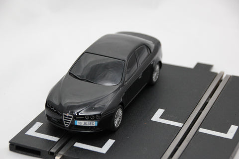 SCALEXTRIC DPR CAR - C1220AL - ALFA ROMEO 159 - ROAD - BLACK - BOND