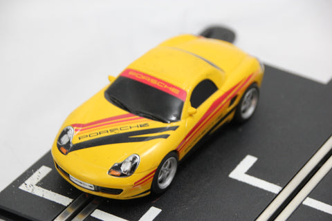 SCALEXTRIC SPORT CAR - C2479 - PORSCHE BOXSTER - ROAD - YELLOW