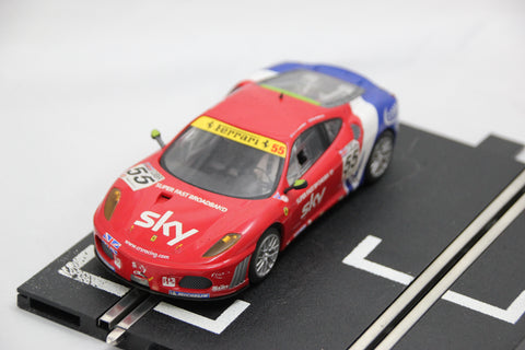SCALEXTRIC DIGITAL CAR - C3085 - FERRARI F430 GT- SKY BROADBAND - 55 - LIGHTS