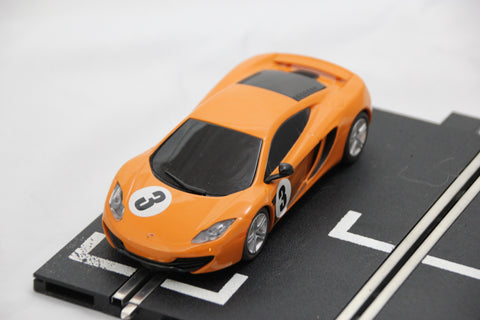 SCALEXTRIC DPR CAR - C3345 - MCLAREN MP4-12C - ORANGE - #3