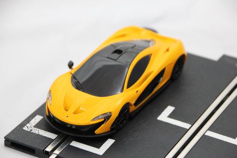 SCALEXTRIC DPR CAR - FROM SET - MCLAREN P1 - YELLOW