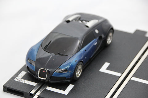 SCALEXTRIC DPR CAR - FROM SET - BUGATTI VEYRON - BLUE/BLACK