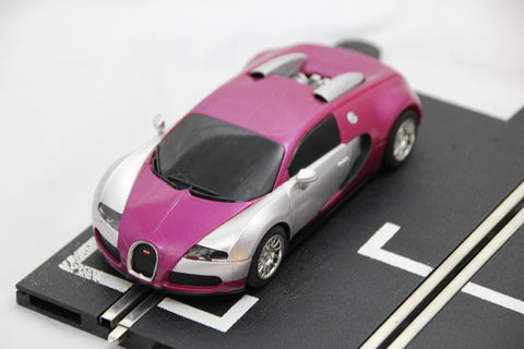 SCALEXTRIC DIGITAL CAR - FROM SET - BUGATTI VEYRON - PURPLE