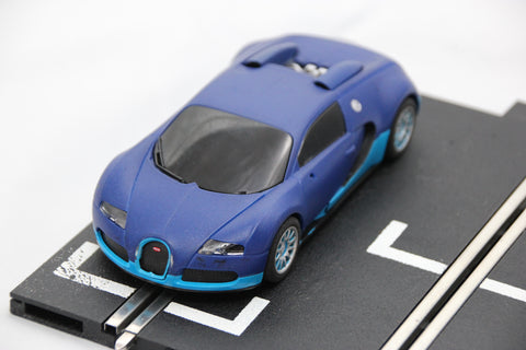 SCALEXTRIC DIGITAL CAR - FROM SET - BUGATTI VEYRON - BLUE