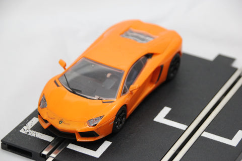 SCALEXTRIC DPR CAR - C3460 - LAMBORGHINI AVENTADOR LP700-4 - ORANGE
