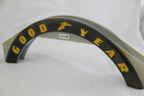 SCALEXTRIC TRACKSIDE ACCESSORIES - C641 - GOODYEAR BRIDGE - SLIGHTLY MARKED