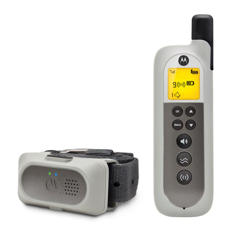 MOTOROLA REMOTE SCOUTTRAINER50 - Training Your Pet Dog