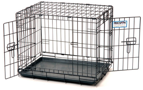 Precision Pet ProValue 2-Door Wire Pet Cat Dog Crates Carriers