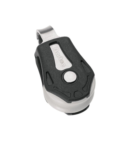 Barton Single Pulley Block with Fixed Eye, Series 0 - whitstable-marine