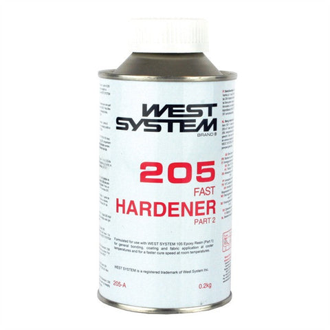 West System 205 Standard Hardeners - whitstable-marine
