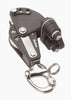 Image of Barton Single Pulley Block with Snap Shackle, Becket & Cam Cleat, Size 2